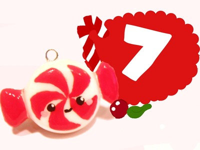 ❤ Candy! Kawaii Christmas 7 -Polymer Clay tutorial