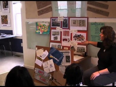 Castle in the Classroom: 4th Grade Bookmaking at CamdenForward School