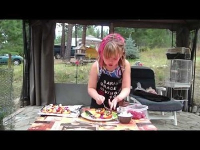 Children Learn how to cook - BBQ Peaches by Sarah-Grace Loving Food