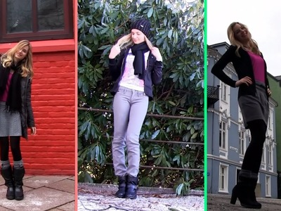 Clothes to Wear in Winter! Business Formal, Casual Cute Winter Outfits (OOTD). In Bergen, Norway.