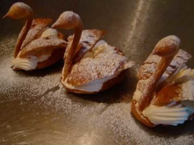 Cream Puff Pastry - How To Make A Swan