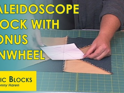 Creating a Kaleidoscope Block With Bonus Pinwheel Block