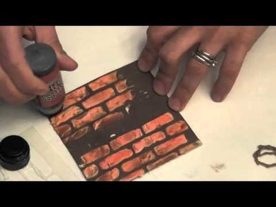 Design Paste Technique for Artsy Addicts Blog Hop