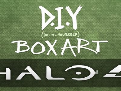 DIY Boxart: Halo 4