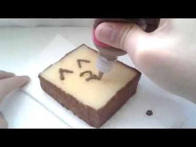 DIY Kawaii Homemade Squishy Toast Tutorial! ^_^