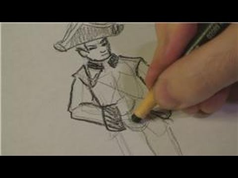 Drawing Lessons : How to Draw a British Soldier of the Revolutionary War