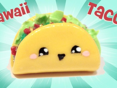 ◕‿◕ Taco! Kawaii Friday 109 - Tutorial in Polymer clay!