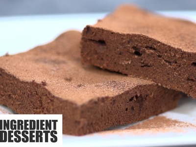 Easy Chocolate Brownies | 5 Ingredient Desserts