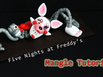 Five Nights at Freddy's 2 Mangle Polymer Clay Tutorial