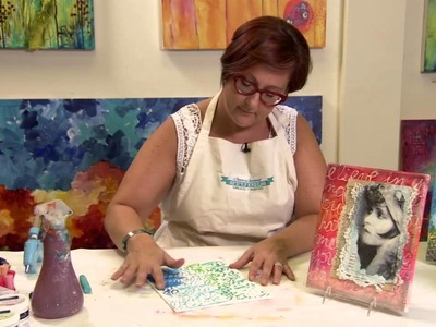 Gelatos Techniques with Hot Glue: Donna Downey Series