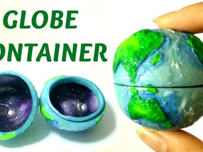 Globe Jewellery Box With Galaxy Interior Tutorial (Polymer Clay)