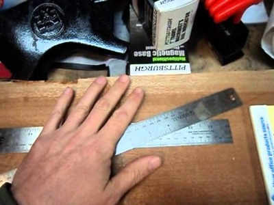 Guitar Build - Part 2 - Laying out the Neck Blank