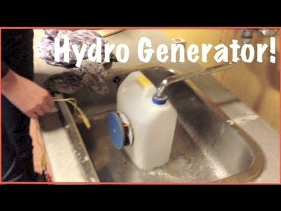 How To Build A Hydro Generator[English] - Step by step.