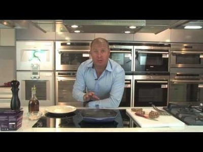 How to cook a steak on an induction cooktop by E&S Trading