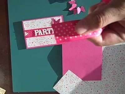 How to make 5 inexpensive birthday Invitations- 2 of 2