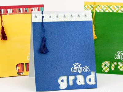 How to make a graduation card with tassel