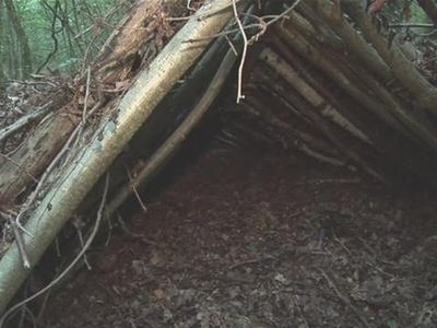 How To Make A Shelter In The Woods
