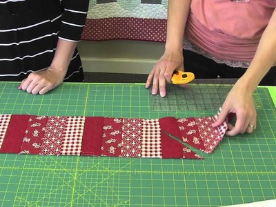 How to Make Angela Yosten's Baby Argyle Quilt - Fat Quarter Shop