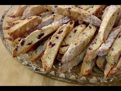 How to Make Biscotti - Recipe by Laura Vitale - Laura in the Kitchen Episode 79