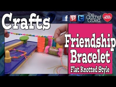 How to Make Flat Knotted Friendship Bracelets