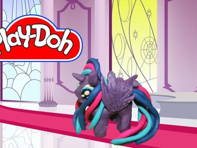 How to Make Play Doh Princess Luna My Little Pony