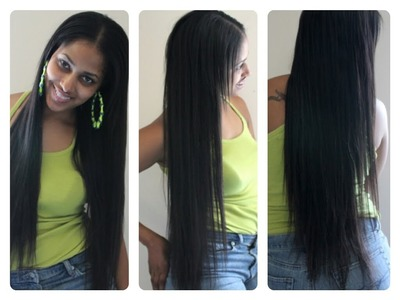 HOW TO MAKE YOUR OWN CLIP IN EXTENSIONS!! | QUICK & EASY by CHINACANDYCOUTURE