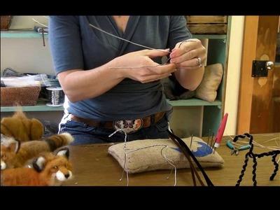 How To Needle Felt Animals - Fox Series 1: Armature by Sarafina Fiber Art