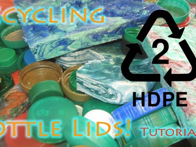 How To Recycle HDPE Bottle Lids Into Flawless Flat Sheet Material - Best Results