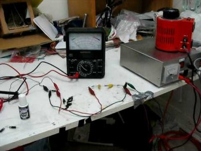 How to test high voltage diodes