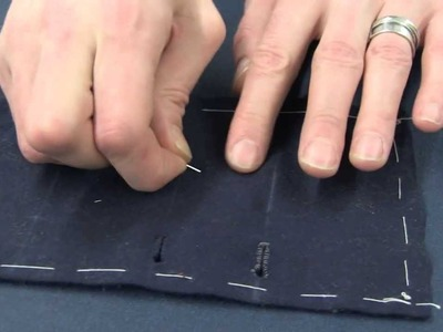 How to use a Needle & Thimble