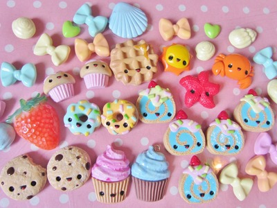 Kawaii Charms update #25 Polymer clay charms