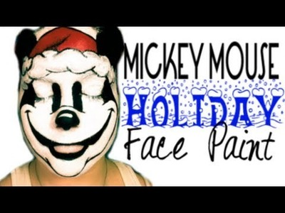 Mickey Mouse Holiday Makeup | STEP BY STEP TUTORIAL