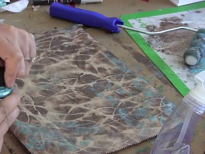 Natural Patterns with a Paint Roller