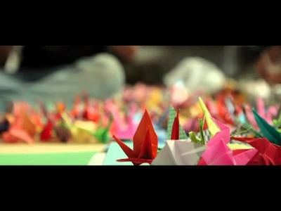 Paper Cranes for Japan: The Journey of Two Million Cranes