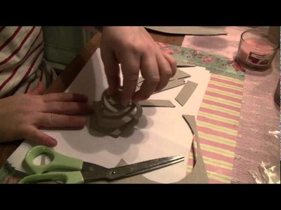 Paper video (cutting and folding) ASMR