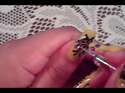 PART 2* ANIMAL LOVERS YORKIE DOG NAIL ART DESIGN TUTORIAL