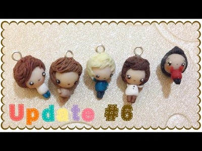 Polymer Clay & Resin Update #6 | The One Direction of Chibis