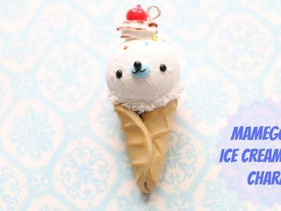 Polymer Clay Mamegoma Ice Cream Cone Tutorial