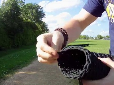 Quick Deploy Paracord Armor w. Fire Starter Kit & Whistle?!