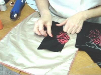 Shibori Techniques with deColourant Part 2