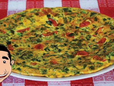 Spinach Frittata Recipe | How to make Frittata | Italian Omelette