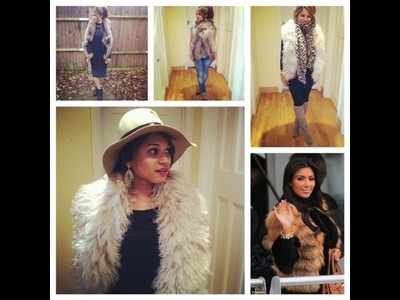 Styling Fur Vest⎮Inspired by Kim Kardashian ⎮Ideal for Fall