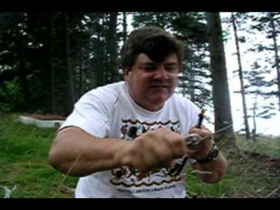 The Crazy Guy Building A Fairy House - #1 - Main Beam