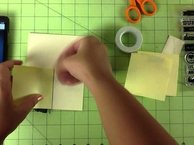 Tutorial Thursday : Washi tape card