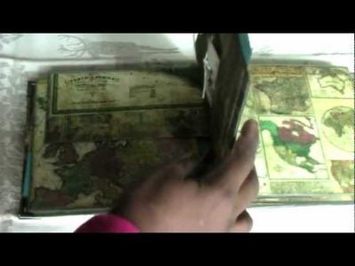 Vintage Travel Cardstock Mini Album