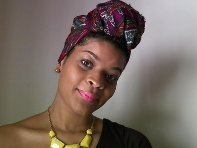 4 Quick Easy Head Wraps