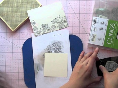 All About Stamping Lesson 4 - Hero Arts Wood and Cling Stamps