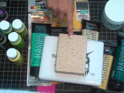 Art Journaling and Polymer Clay Starter Haul Vid