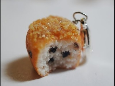 Blueberry Muffin Tutorial, Polymer Clay Miniature Food Tutorial
