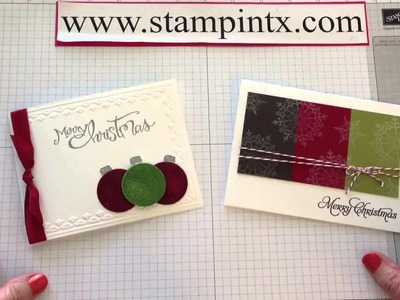 Christmas Cards in July - Monthly Exclusive Tutorials